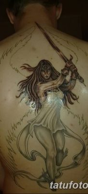 фото тату ангел с крыльями от 07.03.2018 №028 – angel tattoo with wings – tatufoto.com