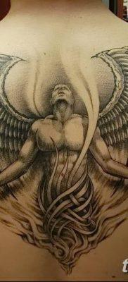 фото тату ангел с крыльями от 07.03.2018 №031 – angel tattoo with wings – tatufoto.com