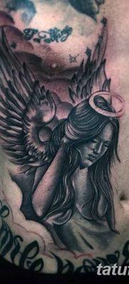 фото тату ангел с крыльями от 07.03.2018 №032 – angel tattoo with wings – tatufoto.com