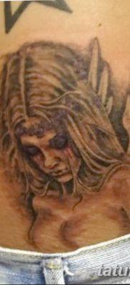 фото тату ангел с крыльями от 07.03.2018 №033 – angel tattoo with wings – tatufoto.com
