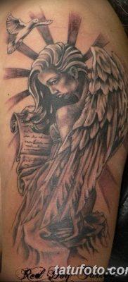фото тату ангел с крыльями от 07.03.2018 №035 – angel tattoo with wings – tatufoto.com