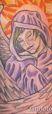 фото тату ангел с крыльями от 07.03.2018 №036 – angel tattoo with wings – tatufoto.com