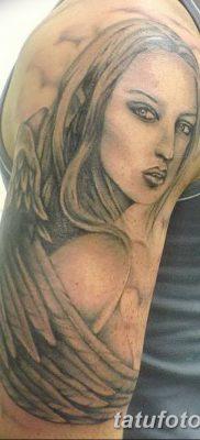 фото тату ангел с крыльями от 07.03.2018 №038 – angel tattoo with wings – tatufoto.com