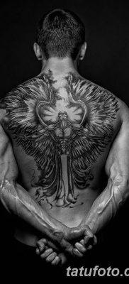 фото тату ангел с крыльями от 07.03.2018 №040 – angel tattoo with wings – tatufoto.com