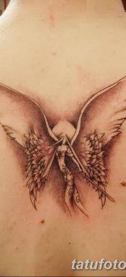 фото тату ангел с крыльями от 07.03.2018 №043 – angel tattoo with wings – tatufoto.com