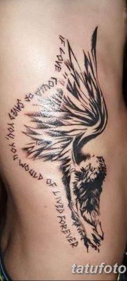 фото тату ангел с крыльями от 07.03.2018 №044 – angel tattoo with wings – tatufoto.com