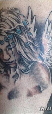 фото тату ангел с крыльями от 07.03.2018 №046 – angel tattoo with wings – tatufoto.com