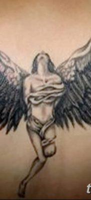 фото тату ангел с крыльями от 07.03.2018 №052 – angel tattoo with wings – tatufoto.com