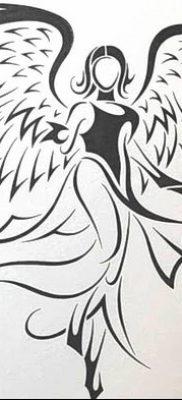 фото тату ангел с крыльями от 07.03.2018 №060 – angel tattoo with wings – tatufoto.com 236234