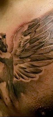 фото тату ангел с крыльями от 07.03.2018 №064 – angel tattoo with wings – tatufoto.com