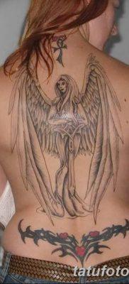 фото тату ангел с крыльями от 07.03.2018 №067 – angel tattoo with wings – tatufoto.com