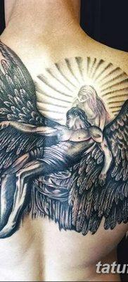 фото тату ангел с крыльями от 07.03.2018 №068 – angel tattoo with wings – tatufoto.com