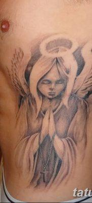 фото тату ангел с крыльями от 07.03.2018 №071 – angel tattoo with wings – tatufoto.com