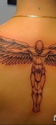 фото тату ангел с крыльями от 07.03.2018 №072 – angel tattoo with wings – tatufoto.com