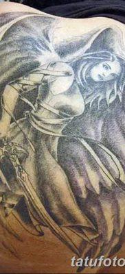 фото тату ангел с крыльями от 07.03.2018 №074 – angel tattoo with wings – tatufoto.com