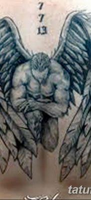 фото тату ангел с крыльями от 07.03.2018 №076 – angel tattoo with wings – tatufoto.com