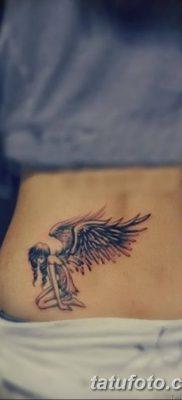 фото тату ангел с крыльями от 07.03.2018 №080 – angel tattoo with wings – tatufoto.com