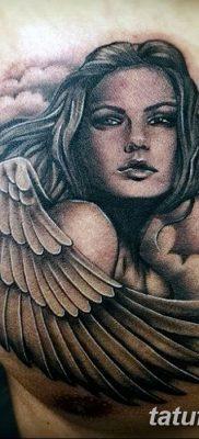 фото тату ангел с крыльями от 07.03.2018 №081 – angel tattoo with wings – tatufoto.com