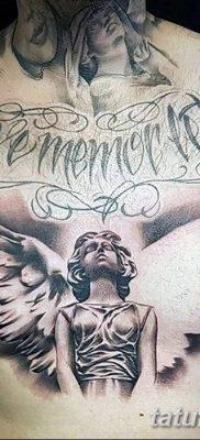 фото тату ангел с крыльями от 07.03.2018 №083 – angel tattoo with wings – tatufoto.com