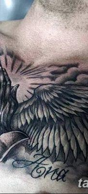 фото тату ангел с крыльями от 07.03.2018 №084 – angel tattoo with wings – tatufoto.com
