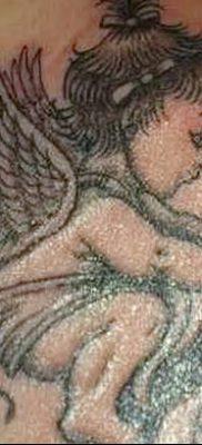 фото тату ангел с крыльями от 07.03.2018 №085 – angel tattoo with wings – tatufoto.com