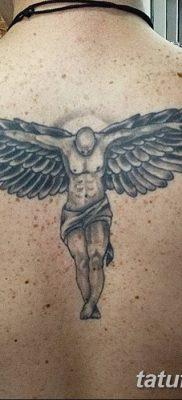 фото тату ангел с крыльями от 07.03.2018 №087 – angel tattoo with wings – tatufoto.com