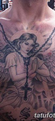 фото тату ангел с крыльями от 07.03.2018 №088 – angel tattoo with wings – tatufoto.com