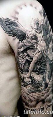 фото тату ангел с крыльями от 07.03.2018 №089 – angel tattoo with wings – tatufoto.com