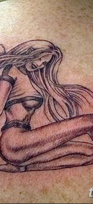 фото тату ангел с крыльями от 07.03.2018 №092 – angel tattoo with wings – tatufoto.com