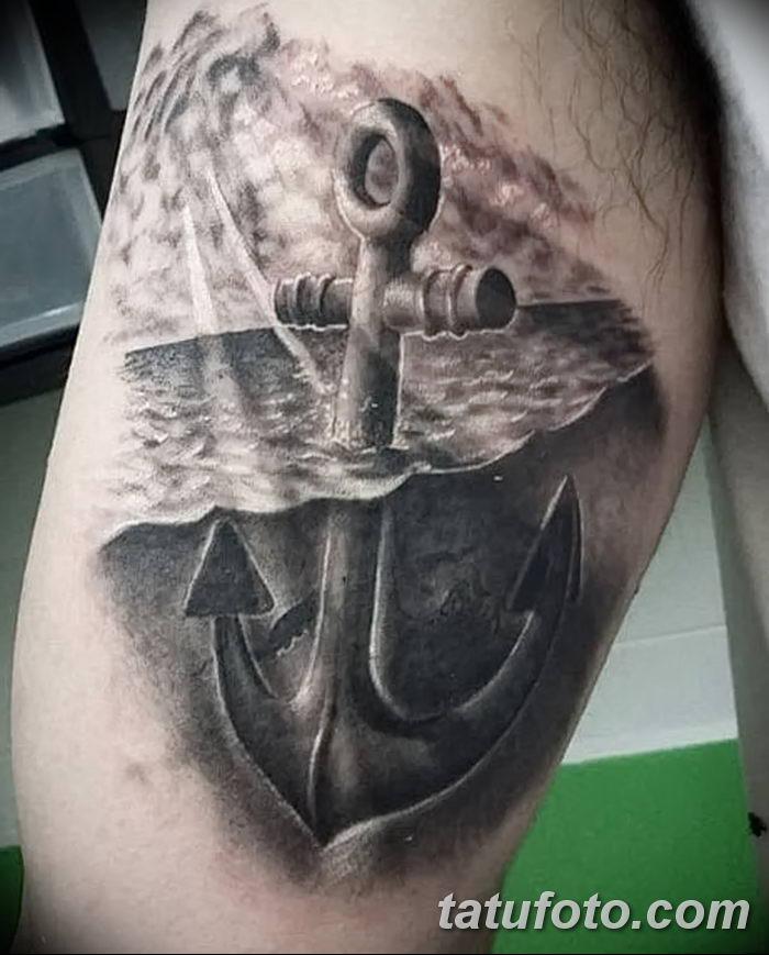 фото тату море от 27.03.2018 №007 - tattoo sea - tatufoto.com
