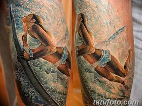 фото тату море от 27.03.2018 №009 - tattoo sea - tatufoto.com