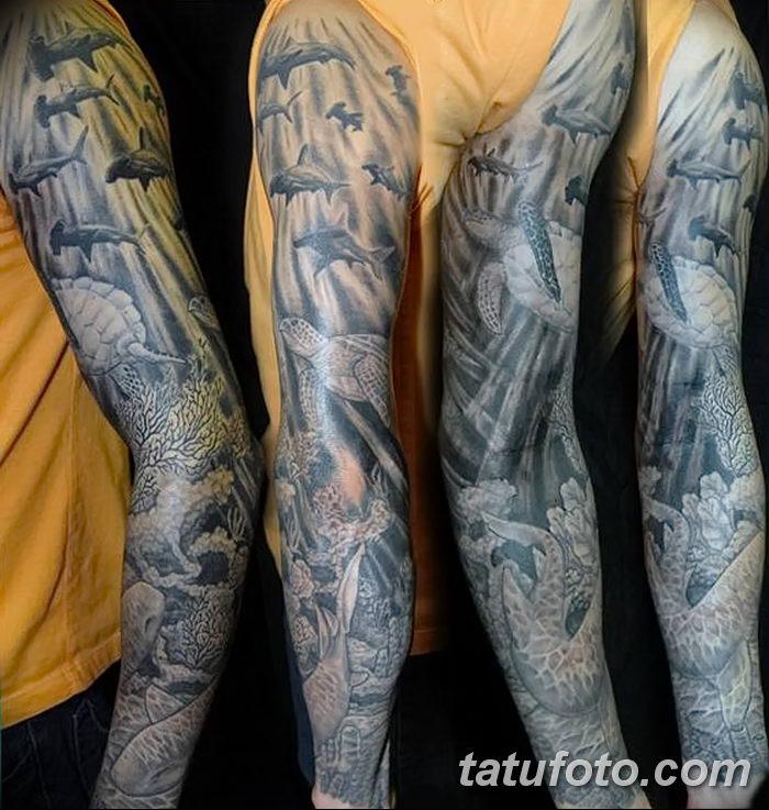 фото тату море от 27.03.2018 №017 - tattoo sea - tatufoto.com