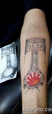 фото тату поршень от 02.03.2018 №030 – tattoo piston – tatufoto.com