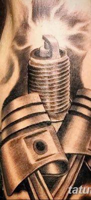 фото тату поршень от 02.03.2018 №055 – tattoo piston – tatufoto.com