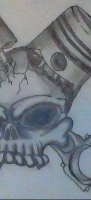 фото тату поршень от 02.03.2018 №070 – tattoo piston – tatufoto.com