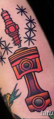 фото тату поршень от 02.03.2018 №074 – tattoo piston – tatufoto.com