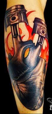 фото тату поршень от 02.03.2018 №075 – tattoo piston – tatufoto.com