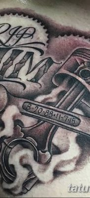 фото тату поршень от 02.03.2018 №078 – tattoo piston – tatufoto.com