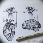 фото эскизы тату кукловод от 23.03.2018 №018 - sketches tattoo puppeteer - tatufoto.com