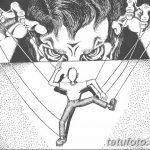 фото эскизы тату кукловод от 23.03.2018 №031 - sketches tattoo puppeteer - tatufoto.com