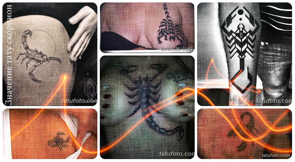 Значение татуировки скорпион - каталог рисунков татуировки и фото