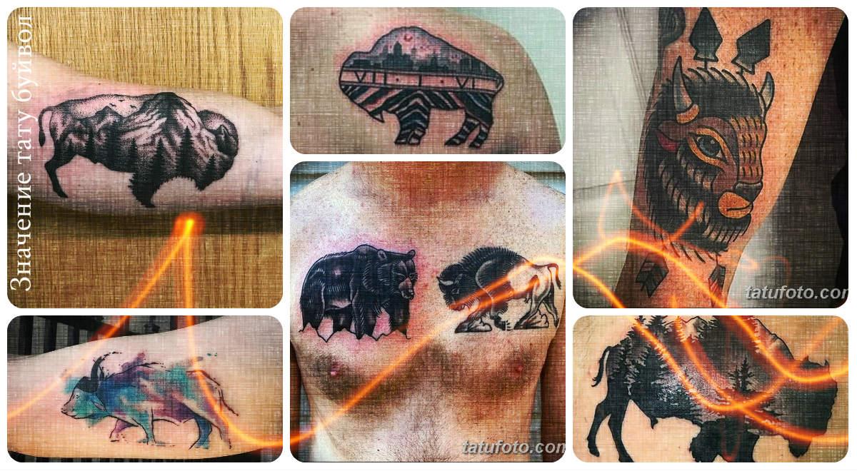 Значение тату буйвол - коллекция фото готовых примеров татуировок