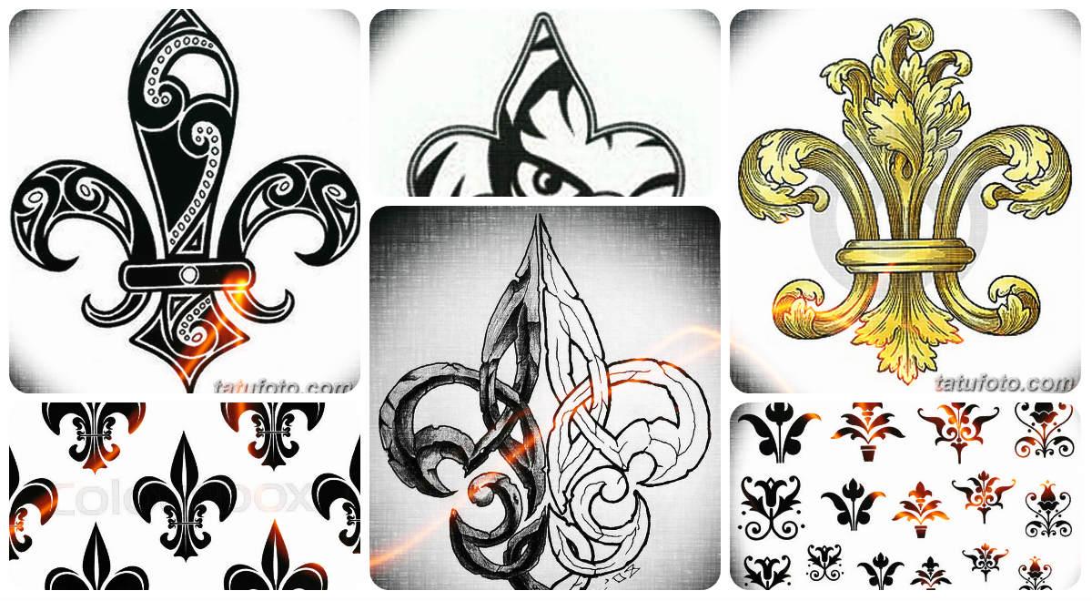 Эскизы тату королевская лилия - коллекция интересных рисунков для татуировки