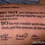 фото Медицинские тату от 22.04.2018 №012 - Medical Tattoo - tatufoto.com