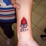 фото Медицинские тату от 22.04.2018 №016 - Medical Tattoo - tatufoto.com