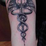 фото Медицинские тату от 22.04.2018 №023 - Medical Tattoo - tatufoto.com