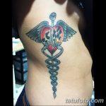 фото Медицинские тату от 22.04.2018 №046 - Medical Tattoo - tatufoto.com