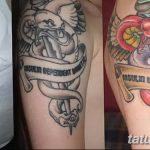 фото Медицинские тату от 22.04.2018 №070 - Medical Tattoo - tatufoto.com