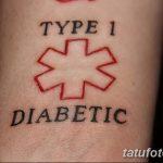 фото Медицинские тату от 22.04.2018 №071 - Medical Tattoo - tatufoto.com