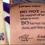 фото Медицинские тату от 22.04.2018 №080 - Medical Tattoo - tatufoto.com